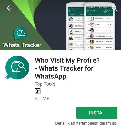Cara mengetahui orang yang sering melihat whatsapp kita