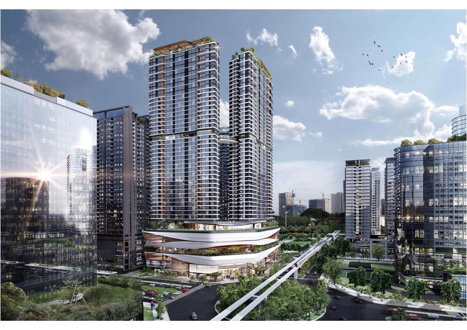 Han Jardin là sản phẩm căn hộ cao cấp hàng đầu Ngoại Giao Đoàn.