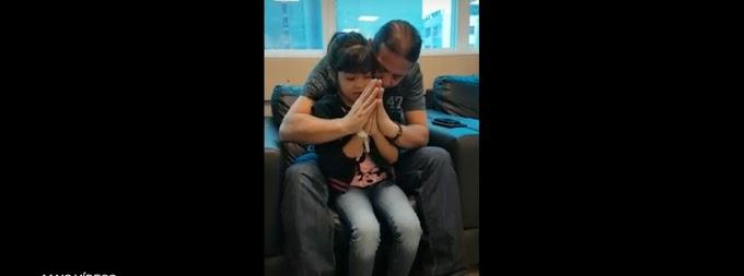 Prefeito Fábio Gentil acompanha menina caxiense com risco de cegueira em tratamento em SP