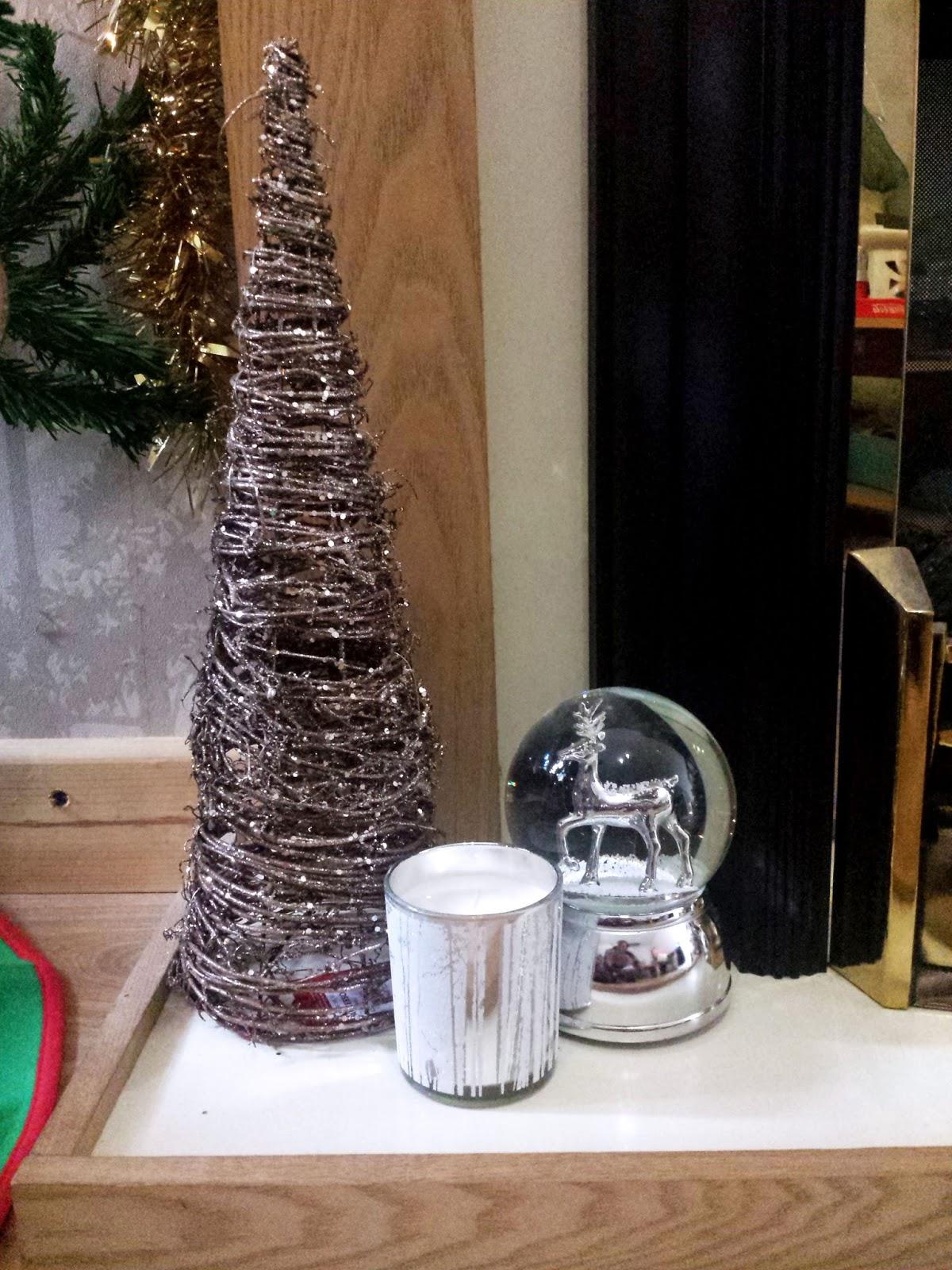 Christmas Decorations at Debenhams