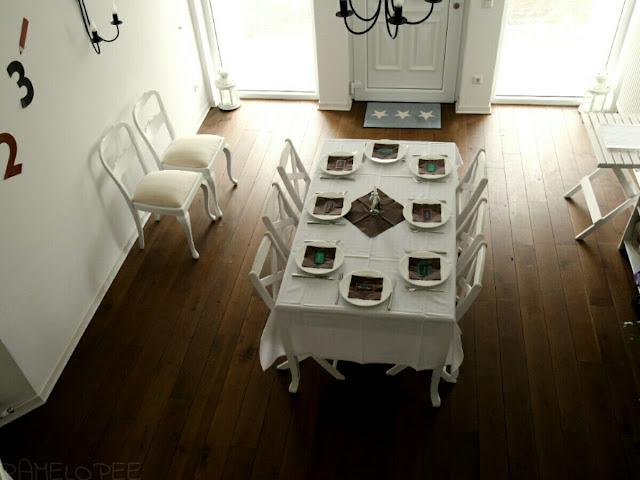 Pamelopee Einschulung Die Tisch Deko Selbstgemacht