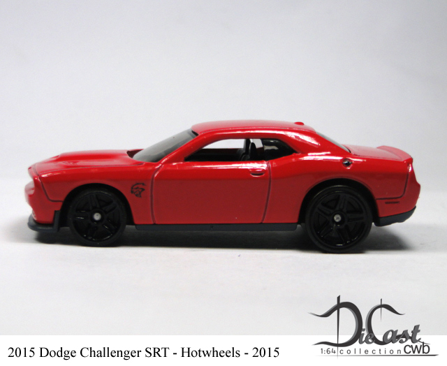 DODGE CHALLENGER SRT 2015 HOT WHEELS 1//64