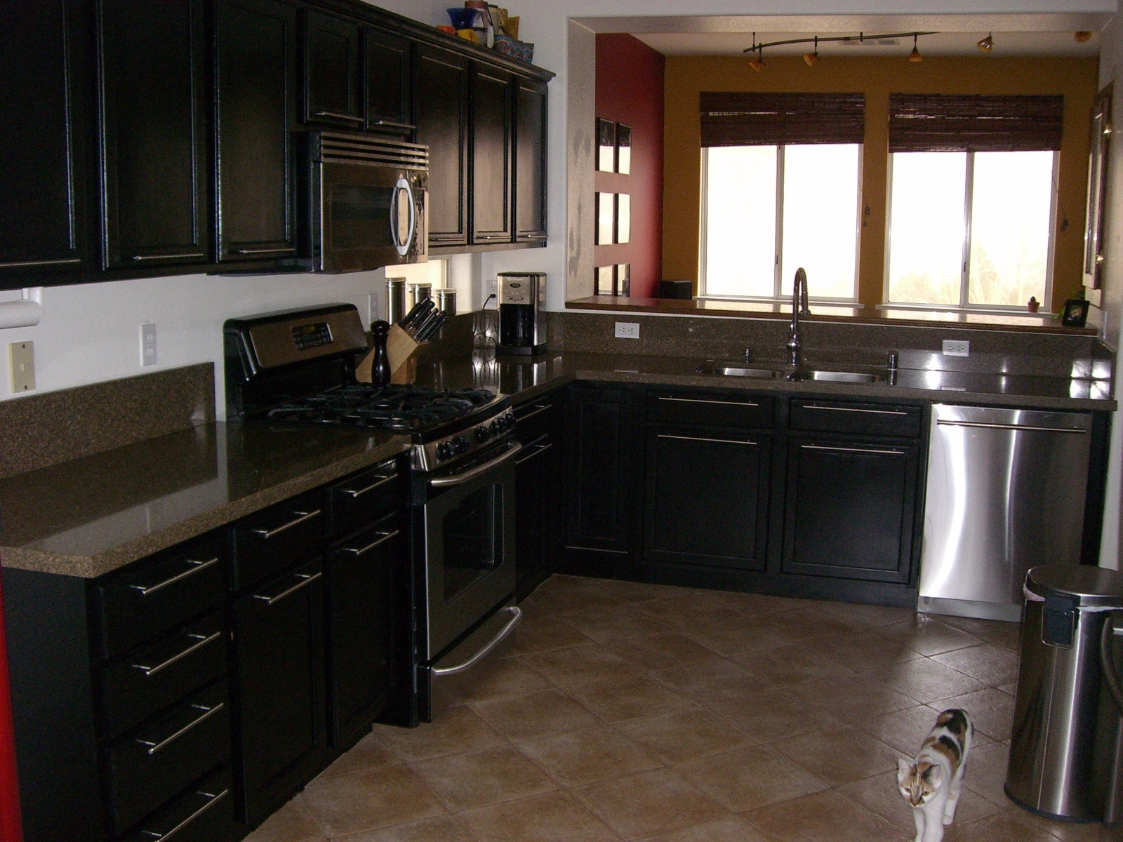 Black Pull Handles Kitchen Cabinets Floor Rugs Michael Blanchard Handyman Services Small Projects That