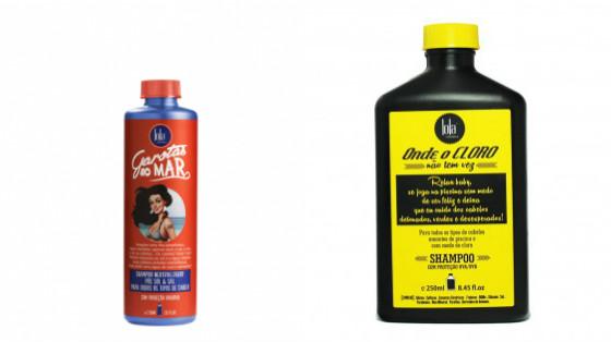 shampoos praia piscina low poo