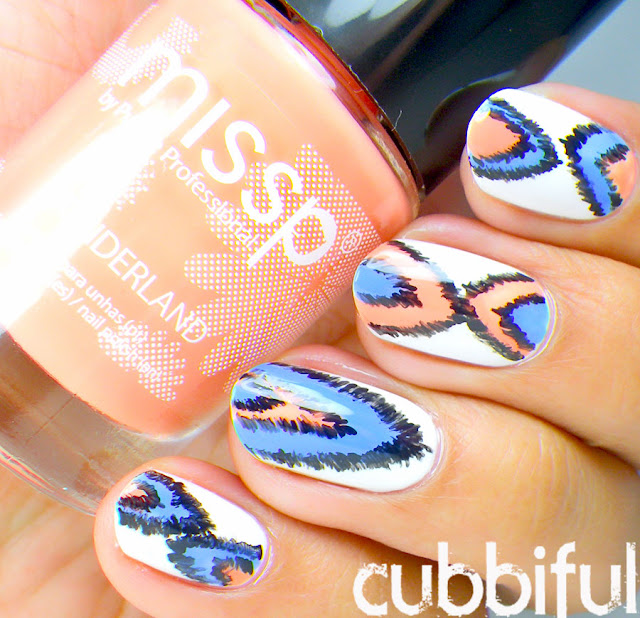 Ikat Summer Nails