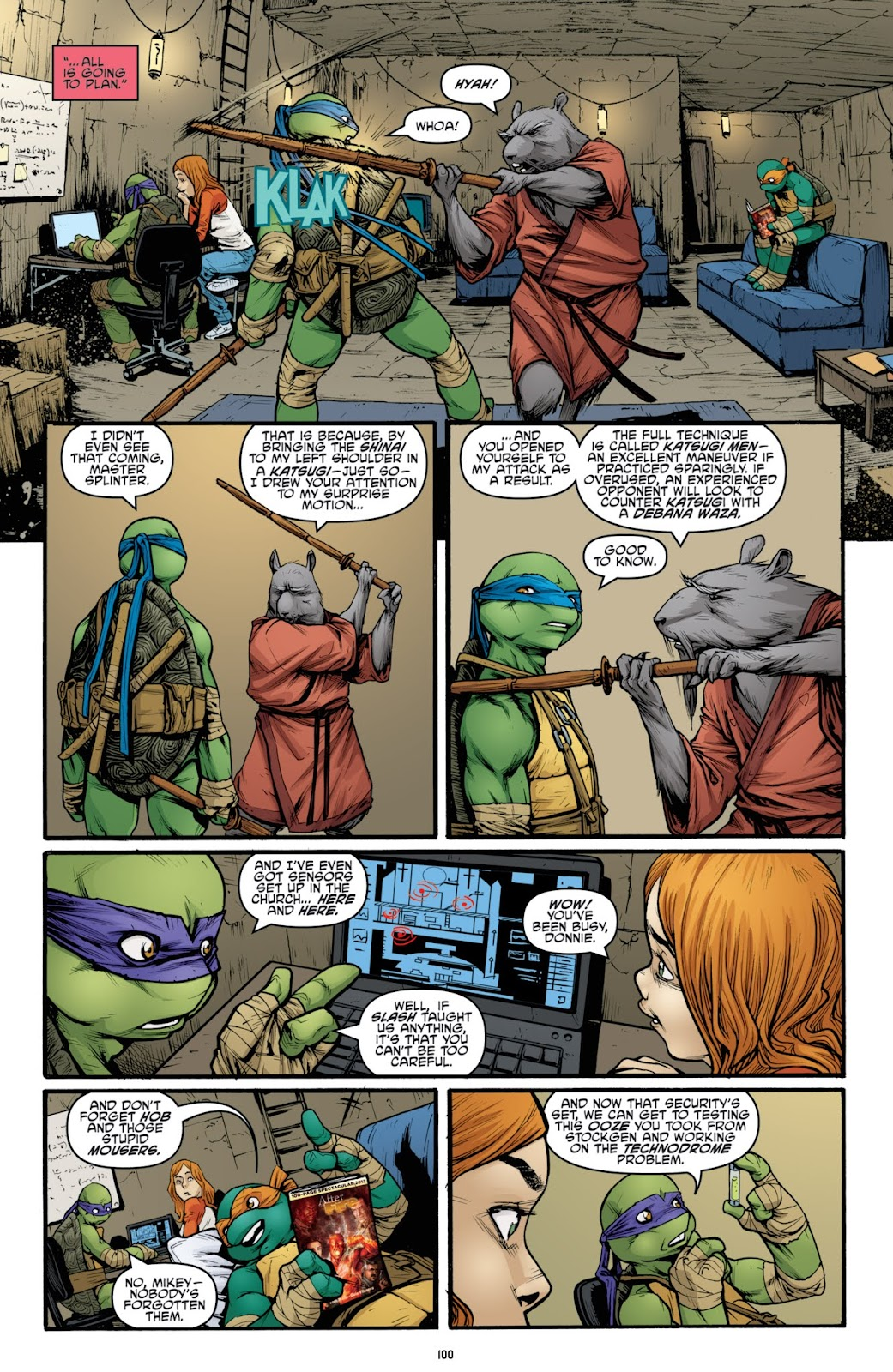 Read online Teenage Mutant Ninja Turtles: The IDW Collection comic -  Issue # TPB 3 (Part 2) - 1