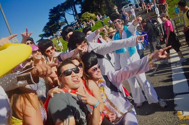 Elvis Presley Bay to Breakers San Francisco