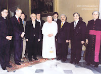 Fethullah Gulen and Pope John Paul, II