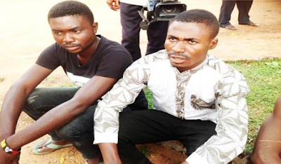 Man arrested in Benue State over suspected human trafficking (see photo)