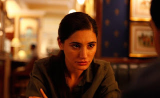 Nargis Fakhri in Shoojit Sircar's Madras Cafe, foreign correspondent to Sri Lanka