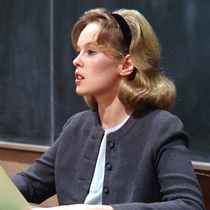 Classic Film And Tv Caf Sandy Dennis Goes Up The Down Staircase