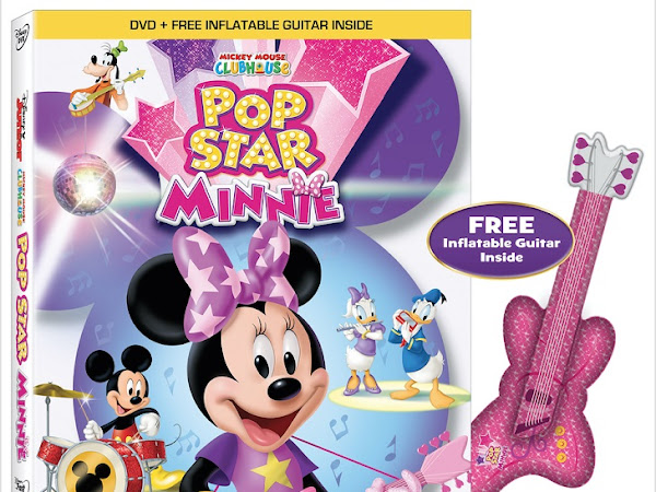 Mickey Mouse ClubHouse: Pop-star Minnie DVD & A Giveaway