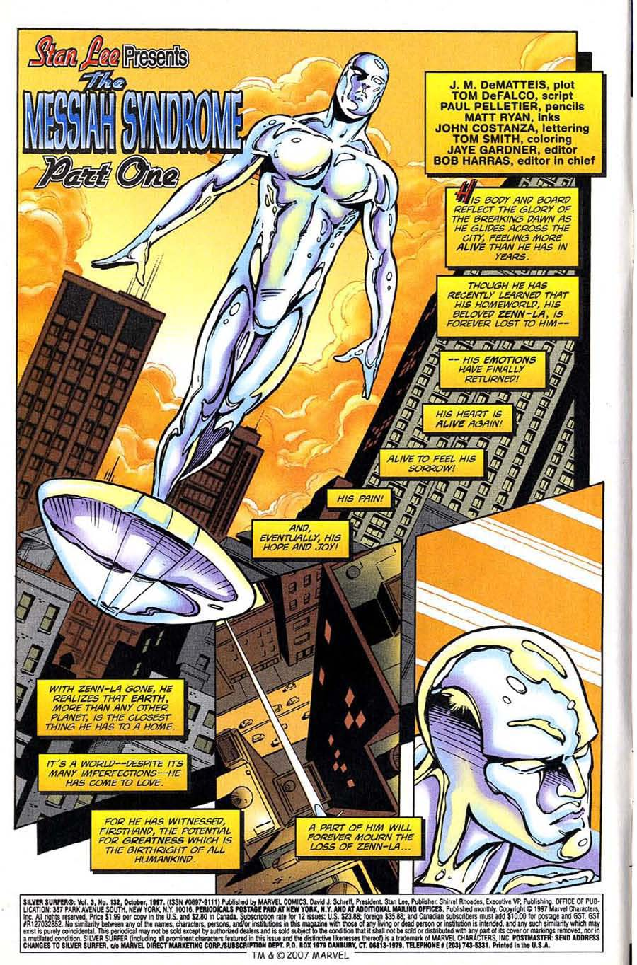 Read online Silver Surfer (1987) comic -  Issue #132 - 8