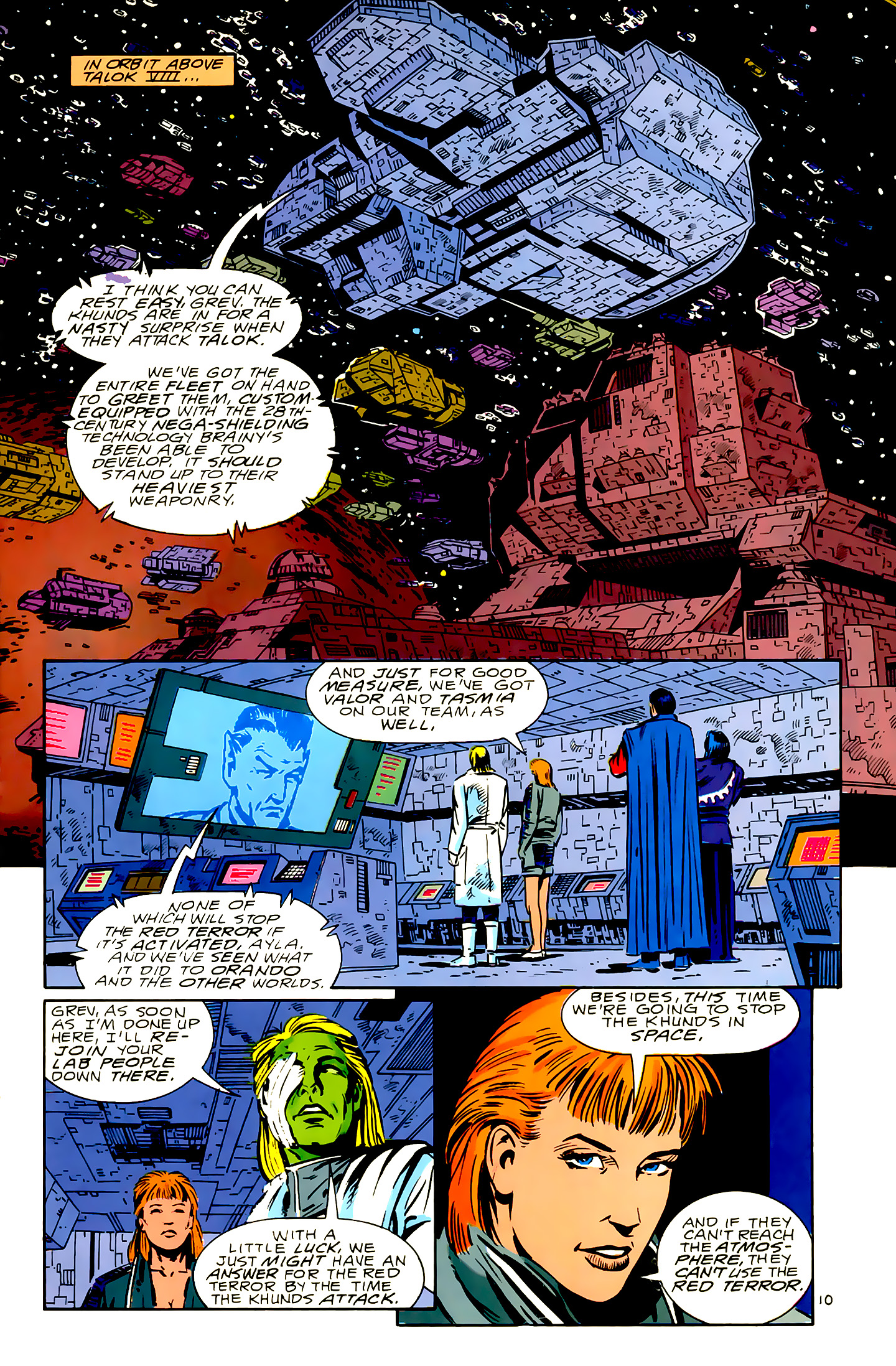 Legion of Super-Heroes (1989) 16 Page 10