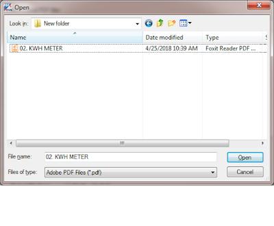 Cara Merubah File PDF Menjadi File DWG AutoCAD