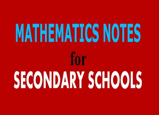 form two mathematics study notes topic 10 11 darasaletu maktaba