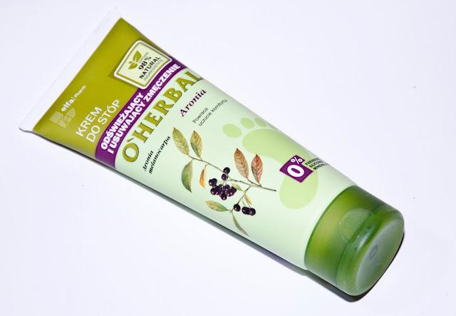 O'Herbal, odświeżający krem do stóp usuwający zmęczenie z ekstraktem z aronii
