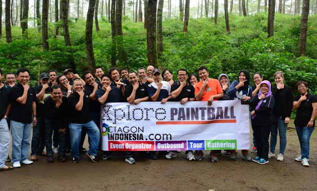 Outbound Paintball di Bandung
