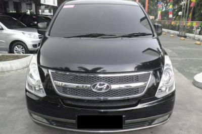 Eksterior Depan Hyundai H1
