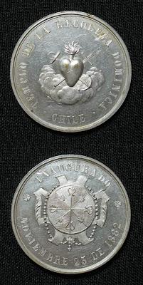 Medalla Iglesia de La Recoleta Dominica