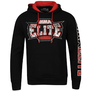 MMA Elite Men's Battle Hoody - Black