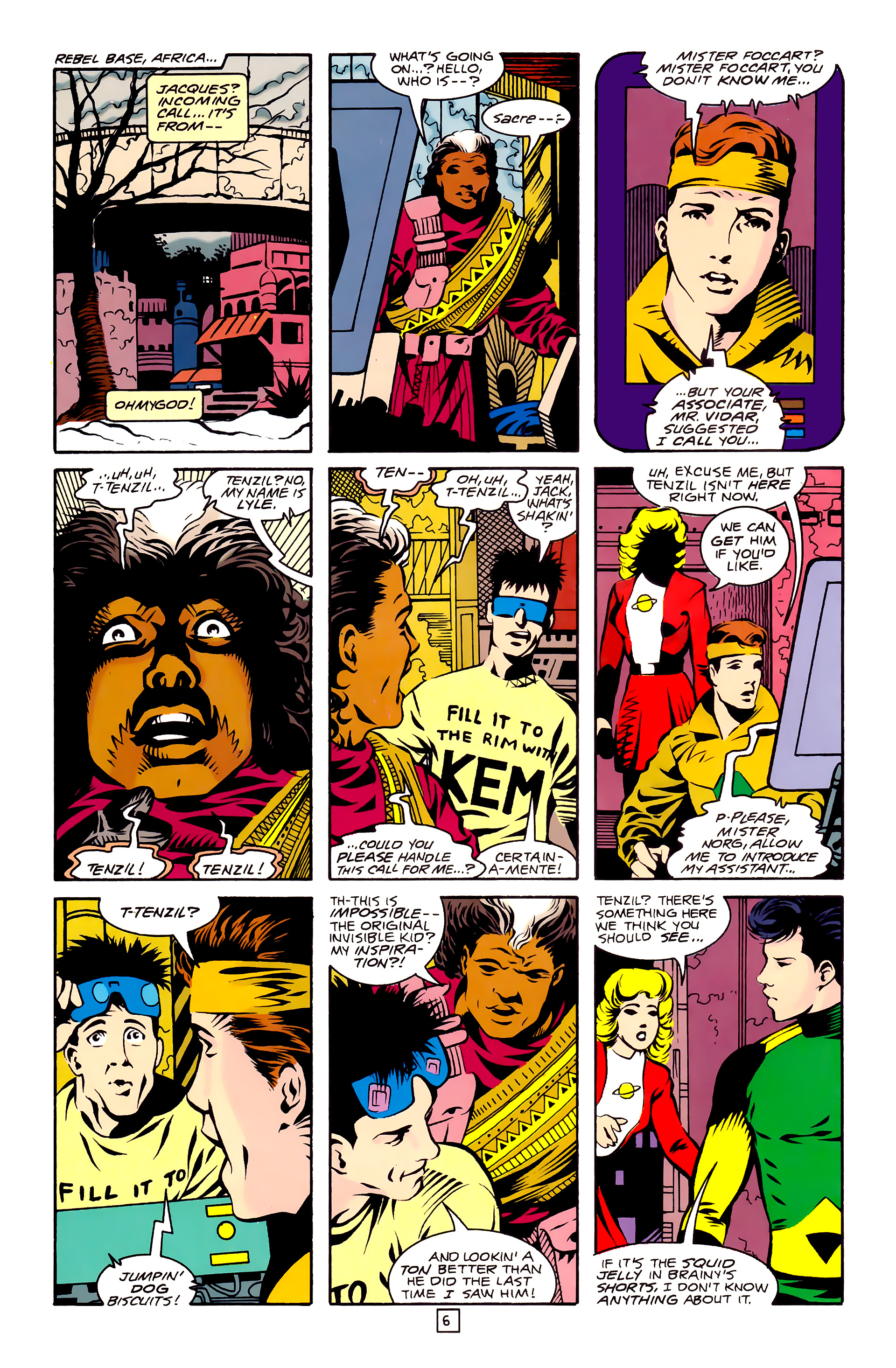 Legion of Super-Heroes (1989) 27 Page 6