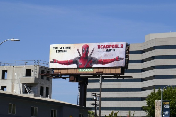 Deadpool 2 film billboard