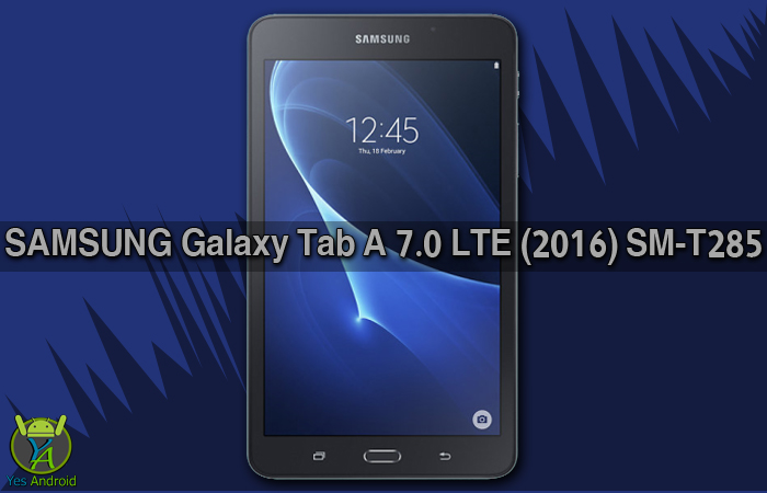 Download T285XXU0AQA5 | Galaxy Tab A 7.0 (2016) SM-T285