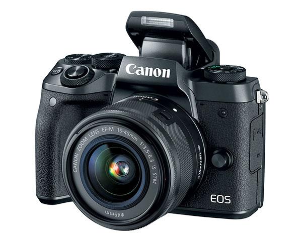 Il flash integrato della Canon EOS M5