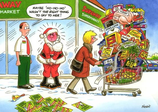 The Lighter Side of Christmas - By Nesbit