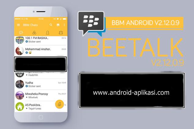 android: Mod BBM Beetalk V2 12 0 9 Apk | 15 4 Mb