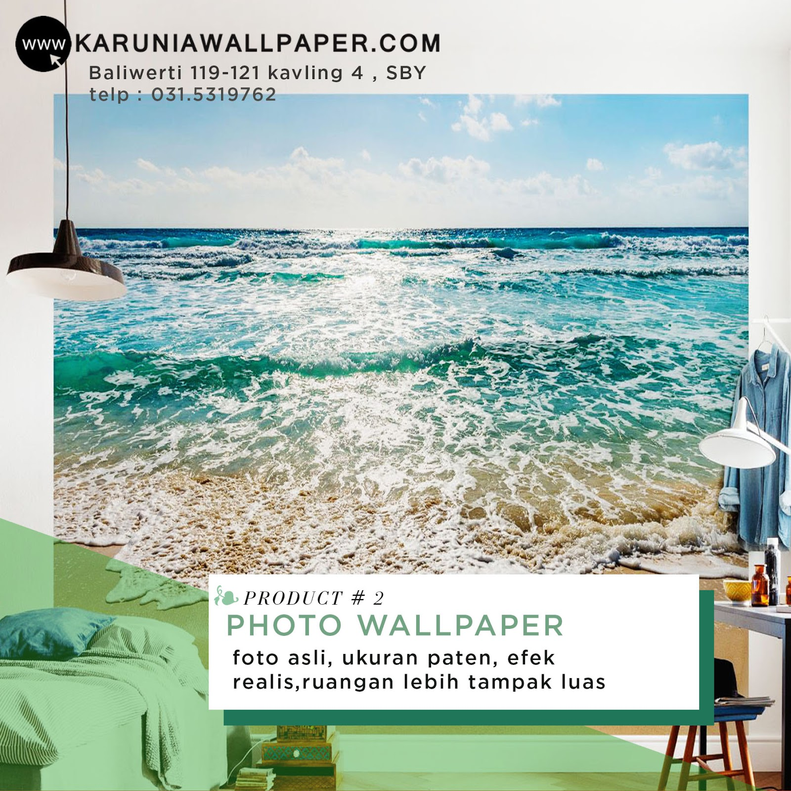 jual wallpaper foto photowall