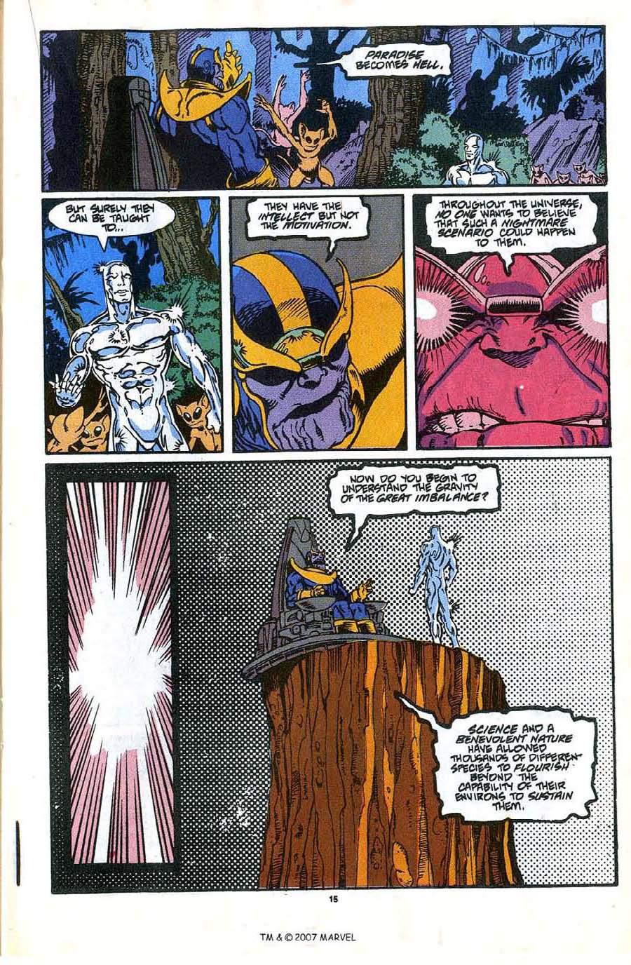 Read online Silver Surfer (1987) comic -  Issue #35 - 17