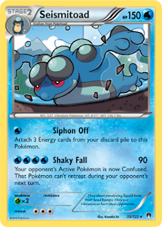 Seismitoad BREAKpoint Pokemon Card