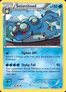 Seismitoad BREAKpoint Pokemon Card