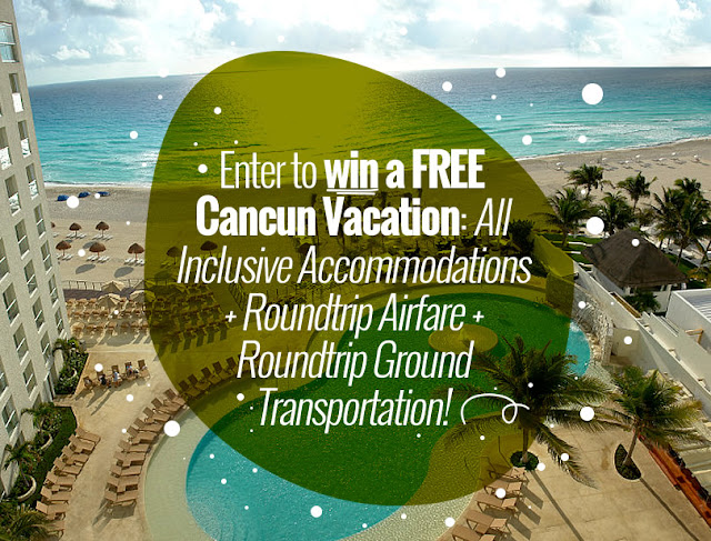 Cancun Great Vacations is offering you a chance to enter once to win a vacation for two to the gorgeous Sunset Royal Beach Resort in Cancun, Mexico!