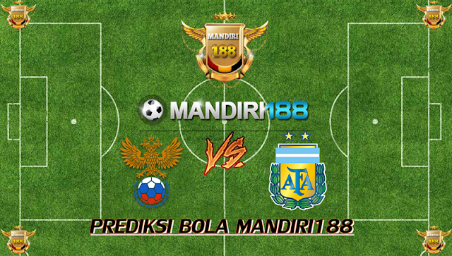 AGEN BOLA - Prediksi Russia vs Argentina 11 November 2017