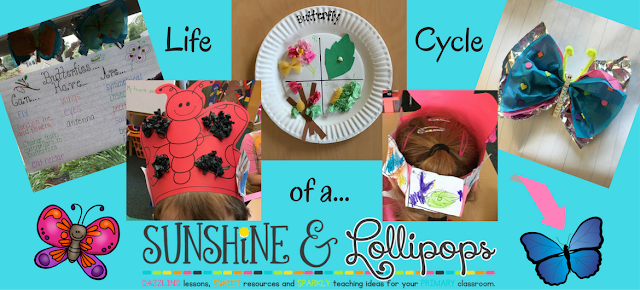 Are you looking for some fabulous, motivating crafts and activities for butterflies? Spring is almost here and all kiddos LOVE to learn about these beautiful winged insects especially when there is metamorphosis involved! That fuzzy, creepy, crawly caterpillar will morph into a beautiful butterfly! I think it is time you checked out this Mini Butterfly unit and post..so what are you waiting for? width=