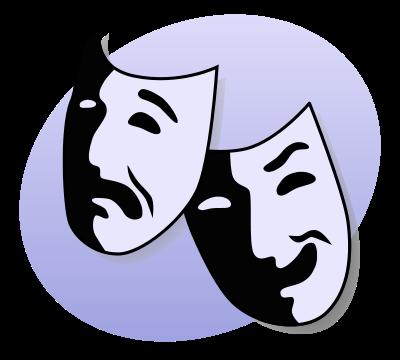 Resultado de imagem para simbolo do teatro