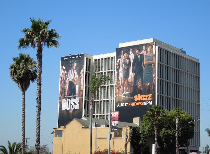 Giant Boss season 2 billboards Sunset Strip
