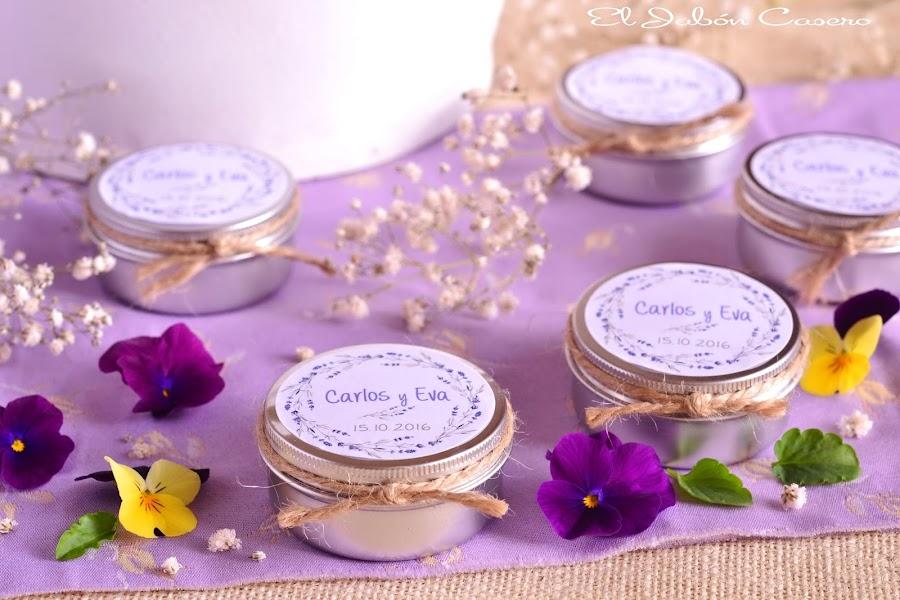 Detalles para bodas velas aromaticas naturales
