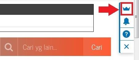 mengaktifkan tombol berbagi di blogger