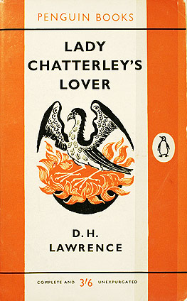 Book cover for D H Lawrence's Lady Chatterley's Lover in the South Manchester, Chorlton, and Didsbury book group