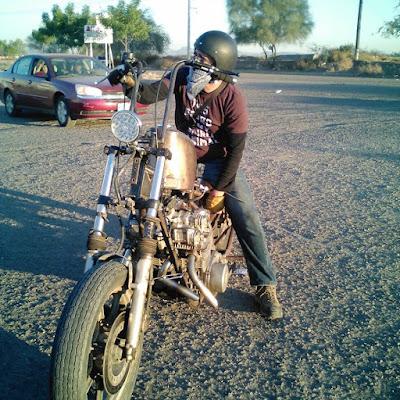 """Kawasaki KZ 1000  """"RatBike"""" by Barba Negra Metal Works"""