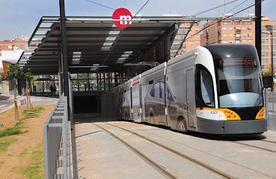 Metrovalencia ofrecerá este lunes servicios mínimos del 70% en los paros parciales convocados en el tranvía