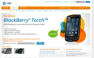 BlackBerry Torch is the first BlackBerry 6 OS-powered smartphone