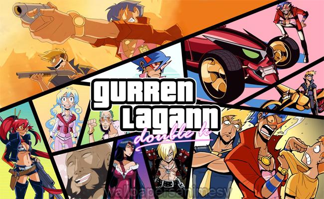 Gurren Lagann Wallpapers hd Anime imágenes fondos pantalla escritorio Backgrounds