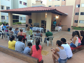 Reunião com os moradores do condominio 2