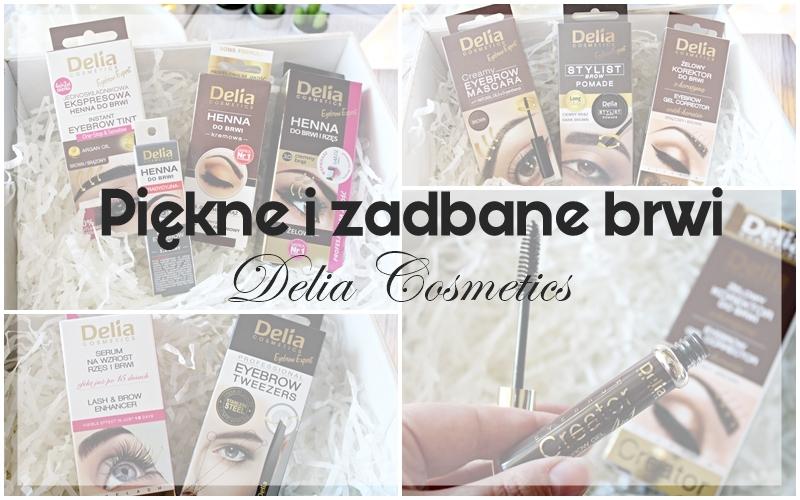 Piękne i zadbane brwi z Delia Cosmetics