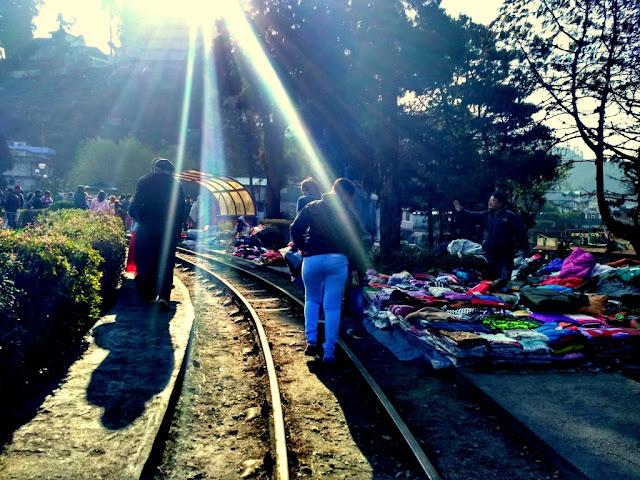 Steret Market at Batasia Loop in Darjeeling